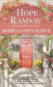 Home at Last Chancy by Hope Ramsay cover imagece Novels by Hope Ramsay. Last Chance Series #2, Home at Last Chance Book Cover