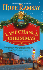 Book Cover -- Last Chance Christmas by Hope Ramsay author of sweet sassy southern small town romances